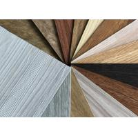 Non Toxic LVT Wood Flooring , Dry Back Contemporary Vinyl Flooring With Wear Layer Manufactures