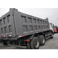 15CBM 371HP 10 Wheeler Dump Truck , Heavy Duty Tipper Trucks High Horse Power Manufactures