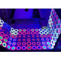China Professional Stage Led Disco Dance Floor For Wedding Decoration on sale