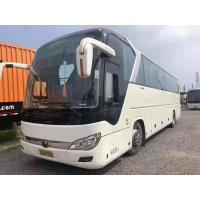 Yutong 6122 Series 55 Seats Second Hand Coach Bus Diesel LHD 2017 Year White Color Luxury Seats With Automatic Door Manufactures