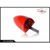DC 12V Universal Side Car Parking Side View Camera Wide Angle 3G1P Lens Red Color Manufactures