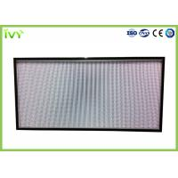 H10 - H14 Efficiency Hepa Filter Replacement , Pleated Panel Air Filters Easy To Install Manufactures