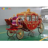 Royal Traditional Cinderella Horse Carriage European Style Steel Artwork Manufactures