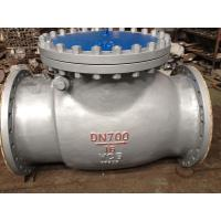 China 30 Rubber Flapper Swing Check Valve FE / RTJ Class 600 DIN / BS on sale