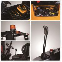 Custom 3 Ton Electric Battery Operated Forklift Safety Seat With Steady Manufactures