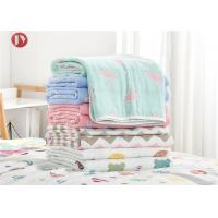 China Organic Cotton Bamboo Baby Muslin Swaddle Blankets , Muslin Baby Blankets on sale