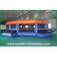 12m Giant Outdoor / Indoor Inflatable Football field Customized Manufactures