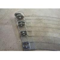 High Tensile Strength Enrober Wire Belt Customized Material Large Open Area