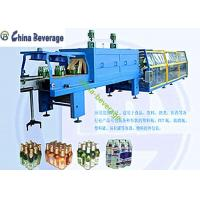 Automatic PE Film Shrink Wrap Packaging Machine For Bottle Customized Capacity Manufactures