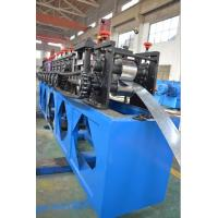 4 kw Hydraulic Power Cutting Roof Panel Frame Roll Forming Machine 10m-15m Forming Speed Manufactures