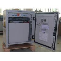 Waterproof Single Wall Outdoor Wall Mounted Cabinet With Batttery Rectifier System Manufactures
