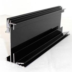 China 6063 T5 Aluminum Extruded Profiles Curtain Wall Window Decorate Electrophoresis Aluminium Profile on sale
