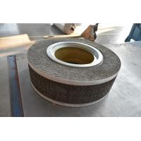 China silicon carbide flap wheel for grinding and polishing nonferrous metal, stainless steel, nonmetal on sale