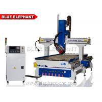 4 Axis CNC Router Machine For Wood , Furniture , Aluminum Manufactures