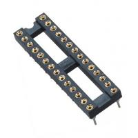 2.54mm IC CardRound Pin Header 2*14P DIP H=3.0 L=7.43 Row Of Pitch 7.62 Manufactures