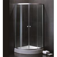 800 X 800 Quadrant Shower Enclosures And Tray With Magnetic Stripes Ss Sliding Handle Manufactures
