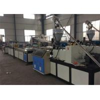 Wood Plastic Profile Production Plastic Extruder Machine , Plastic Extrusion Equipment Manufactures