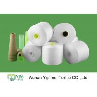 Z Twist High Tenacity Raw White Low Elongation 100 Polyester Yarn for Sewing Thread Manufactures