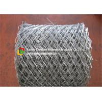 China Lightweight Flattened Expanded Metal MeshLow Carbon Steel Hot Dipped Galvanized for sale
