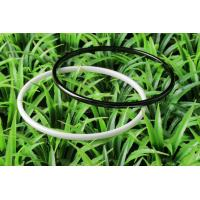 Glossy Black And White Ceramic Bangle With Customized Logo For Party , CSB0858 Manufactures