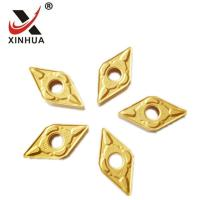 China Gold Tungsten Carbide Turning Inserts , Cemented Carbide Inserts DNMG150608 on sale