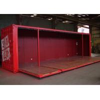 40HQ ISO Metal Shipping Containers With Foldable Wall Panels Manufactures