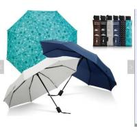 Waterproof Lightweight Folding Self Opening Umbrella Rubber Coating Handle Many Colors Manufactures