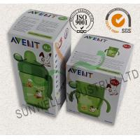 Milk Bottle Colored Corrugated Packaging Boxes , Custom Sized Cardboard Boxes
