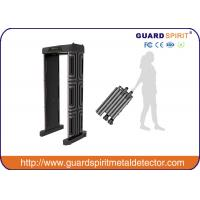 China Adjustable  High sensitivity Full Body scanner / security metal detector gate ROHS / FCC for school wholesale