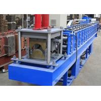 China Colored Metal Ridge Cap Roof Tile Making Machine for Building Full Automatic on sale