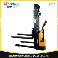 High quality material handling tools 1000kg 1600mm full electric reach stacker price Manufactures