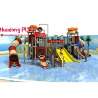 Commercial Water Park Playground Equipment Multi - Functional Unique Blow Up Water Slide Manufactures