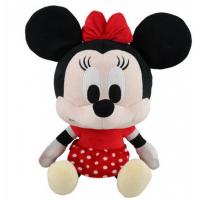 Big Head Minnie Mouse Soft Toy Pink Disney Plush Toys with Custom Logo Manufactures