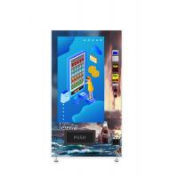 China Self Service Chocolate Vending Machine Large Advertising Touchscreen Anti Theft on sale