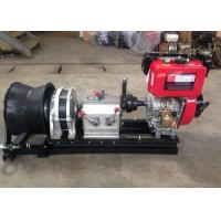 5 Ton Diesel Engine Powered Winch Wire Rope Winch For Fast Speed Manufactures
