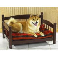 Dog beds Pet bed sofa, made in solid hardwood, rosewood color stained finish Manufactures
