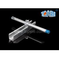 Black HDG Slotted Plain Strut Unistrut Channel To Support Conduits 41X 41MM Manufactures