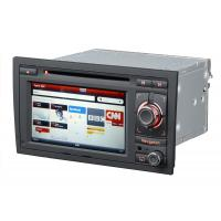 China ST-8604 AUDI A4 6.5 LCD GPS, Bluetooth, 3G Audi Navigation DVD With Steering Wheel Controller on sale