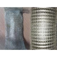 China 201 304 316 Compressed Knitted Wire Mesh Of Stainless Steel Wire Customized on sale