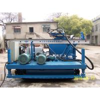 XPL-20A Crawler drilling Rig For Anchoring apply singe pipe, duplex pipe, triple pipe tools Manufactures
