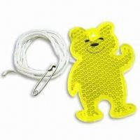 Bear-shaped Reflector, Available in 3 Standard Colors Manufactures