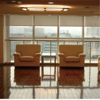Semi Blackout Custom Electric Blinds Shades System Residential Living Room Manufactures