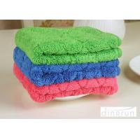 China Custom Logo Various Colored Microfiber Car Cleaning Cloth Eco - Friendly 40*50cm on sale