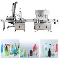 Reliable Linear Capping Machine / Liquid Filling And Capping Machine Manufactures