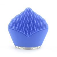China Battery Rechargeable Silicone Electric Facial Cleanser , Sonic Face Massager on sale