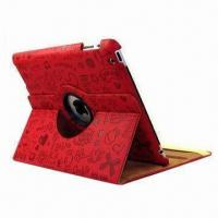 Magic Girls' Rotating Leather Cover for iPad, Easy to Access Your Control Panel Manufactures