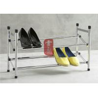 2 Layetr Metal Adjustable Shoe Display Racks For Supermarket Manufactures