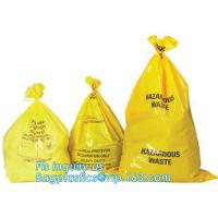 Biodegradable Medical Drawstring medical biohazard waste disposal supplies LDPE plastic autoclave bags, bagease, pac, sa Manufactures