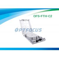 China Waterproof FTTH Mini Optical Fiber Termination Box 12 Outlet Pigtail wholesale