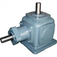 High Torque Cast Iron Spiral Bevel Gearbox , Variable Speed Reduction Gear Box Manufactures